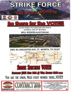 Be There For The Vote